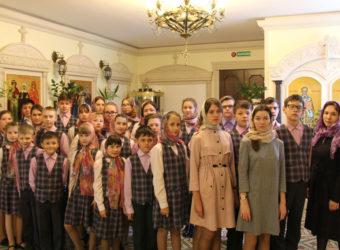 Богослужение с детским хором