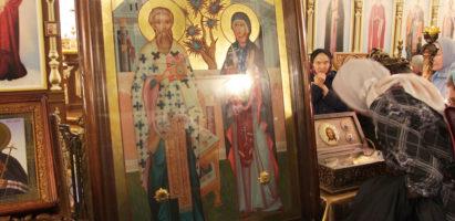 с 22.12 до 24.12 в нашем храме будут пребывать мощи свт. Луки Крымского и мчч. Киприана и Иустинии